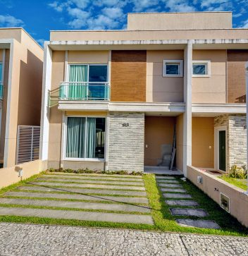Carmelle Vitta - Casa Duplex, 98m² privativos, 3 quartos, sendo 2 suítes